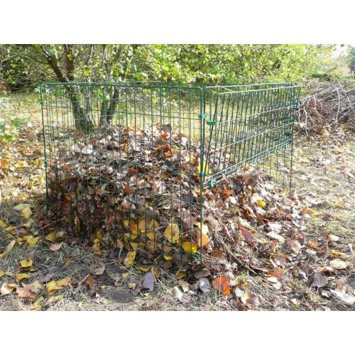 Kompostownik Metalsilo 660 Plus Zielony  660l
