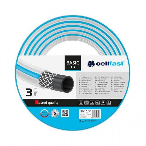 """Cellfast Wąż Ogrodowy BASIC 1/2"""" 50m"""