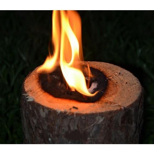 3szt Świeca Ogrodowa EKO Odstrasza Komary Woodson