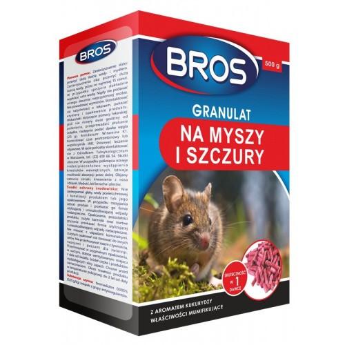 Granulat Na Myszy I Szczury Bros 500g