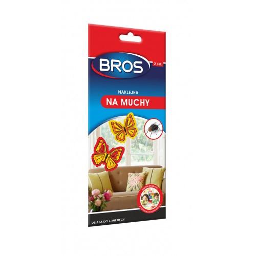 Naklejka Na Muchy 2szt Bros Motylek