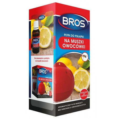 Płyn Do Pułapki Na Muszki Owocówki 15ml Bros