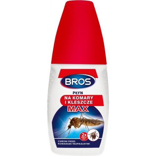 Płyn Na Komary I Kleszcze Max 50ml Bros