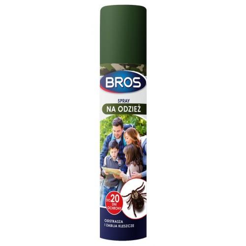 Spray Na Odzież Odstrasza I Zabija Komary I Kleszcze 90ml Bros