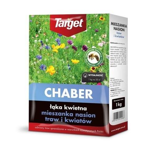 Nasiona Traw i  Kwiatów Chaber Łąka Kwietna 1kg Target