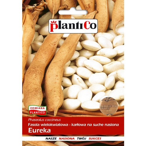 Fasola Wielokwiatowa Eureka 50g PlantiCo