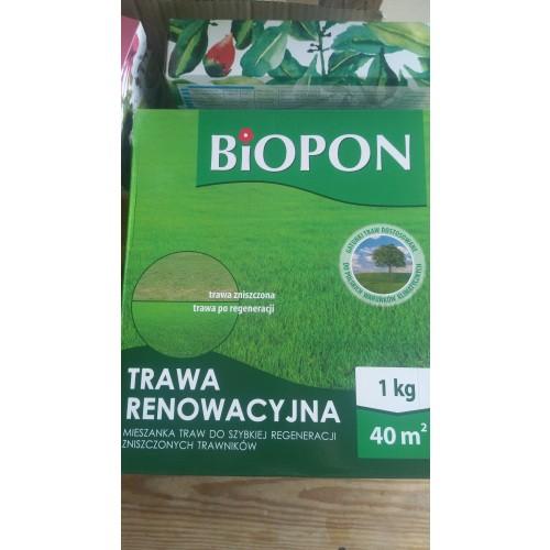 Trawa Renowacyjna 1kg Biopon USZKODZONA