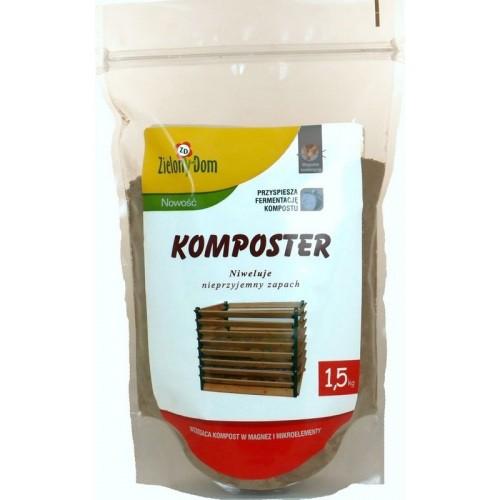 Komposter Najlepszy 1,5kg Zielony Dom