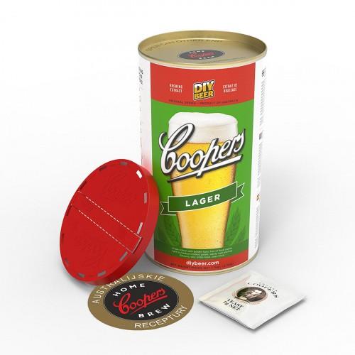 Koncentrat do Wyrobu Piwa Lager Coopers 1,7kg
