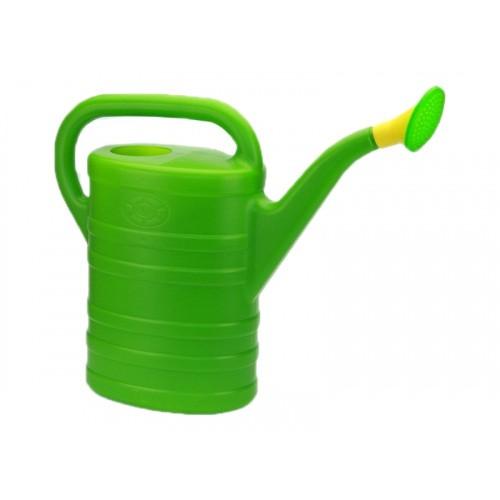 Konewka Plastikowa Zielona Uniwersalna 10l