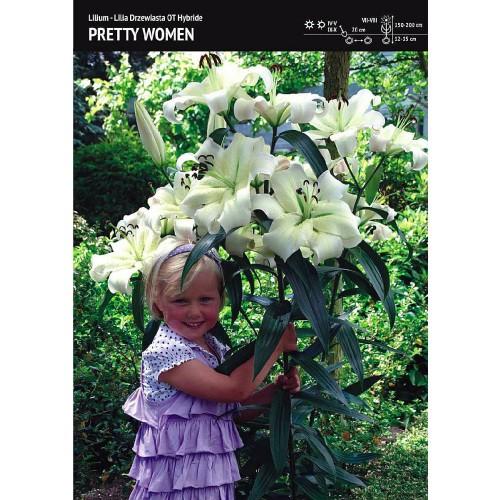 Lilia Drzewiasta Pretty Women Cebulka 1szt