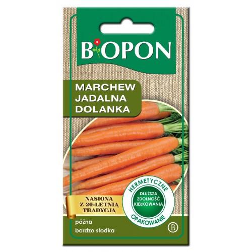 Nasiona Marchew Jadalna Dolanka 4gr Biopon