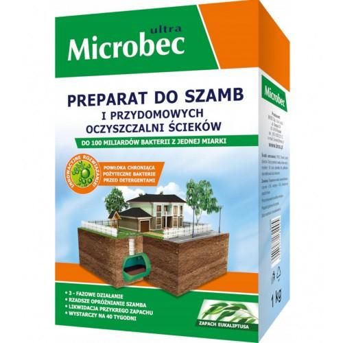 Microbec Ultra Preparat Do Szamb 1kg Eukaliptus Bros