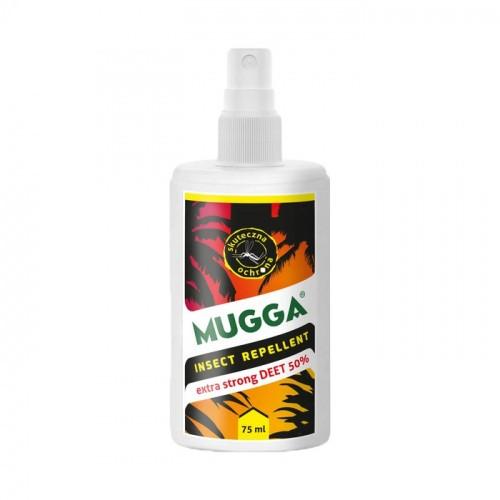 Mugga Spray 50% DEET Na Komary I Kleszcze MUGGA STRONG