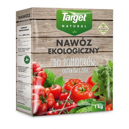 Nawóz Ekologiczny do Pomidorów i Ogórków 1kg Target