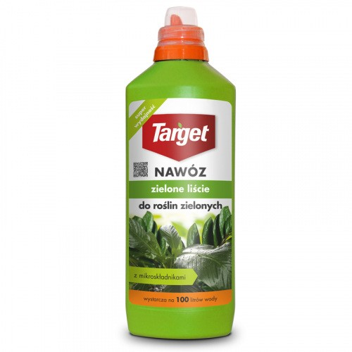 Nawóz Zielone Liście Do Roślin Zielonych 1l Target