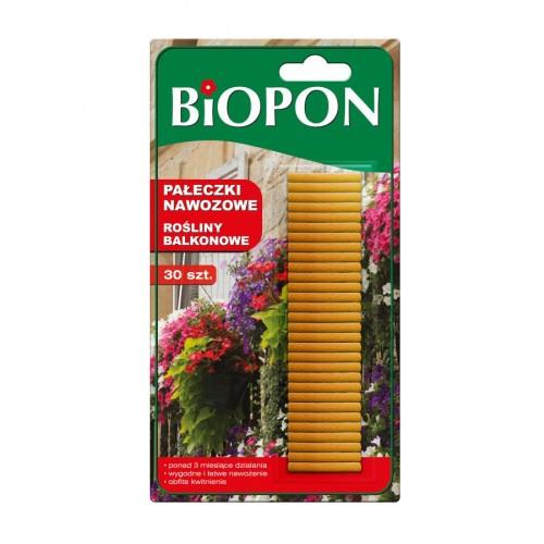 Pałeczki Nawozowe Do Roślin Balkonowych 30szt Biopon