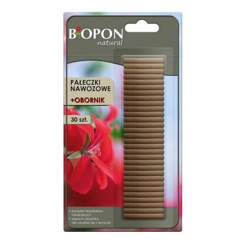 Pałeczki Nawozowe + Obornik Biopon 30szt