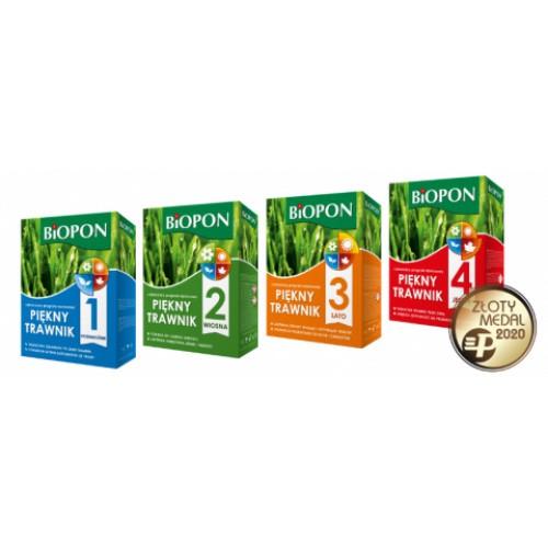 Piękny Trawnik Lato Nawóz do Trawnika 2kg Biopon