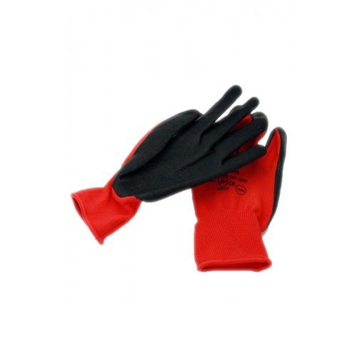 Rękawice Ogrodowe Robocze Wampirki Czerwone r. M