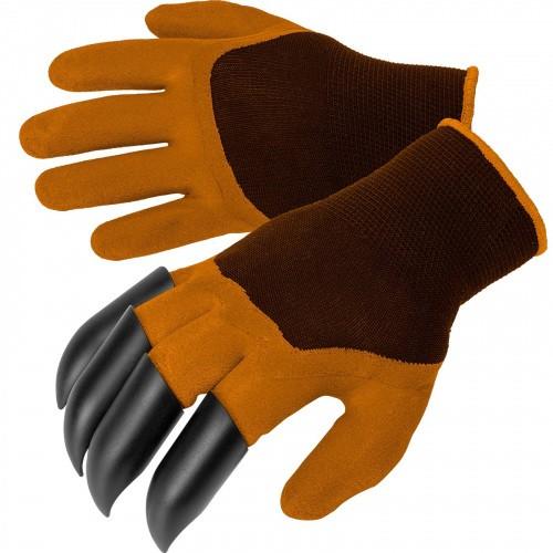 Rękawice Rękawiczki Z Pazurkami Pomarańczowe