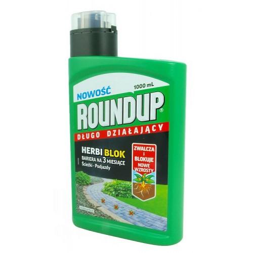 Roundup Herbi Blok 1l Długo Działa 3 M-ce