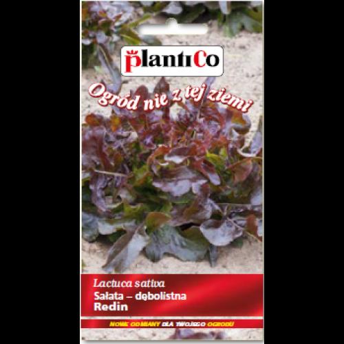 Sałata Dębolistna Czerwona Redin 0,5g PlantiCo
