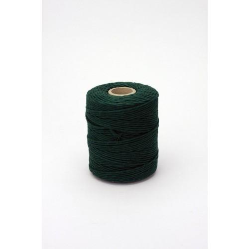 Sznurek Bawełniany Zielony 100gr