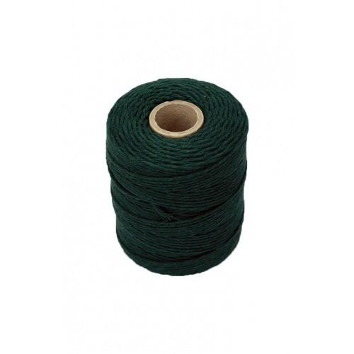 Sznurek Bawełniany Zielony 250gr