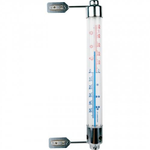 Termometr Zewnętrzny Metalowy  20cm 020600