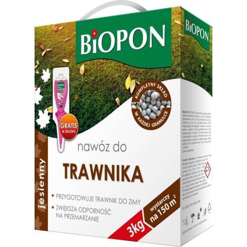 Nawóz Jesienny Do Trawnika 3kg Biopon