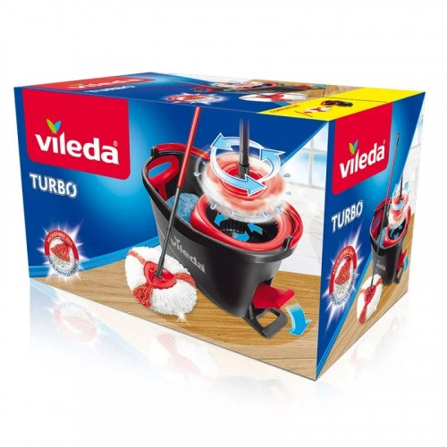 Vileda Mop Obrotowy Easy Wring And Clean TURBO