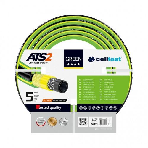 """Cellfast Wąż Ogrodowy Green ATS2 1/2"""" 50m"""