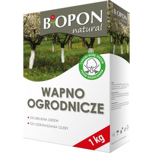 Wapno Ogrodnicze Do Bielenia i Odkwaszania 1kg Biopon