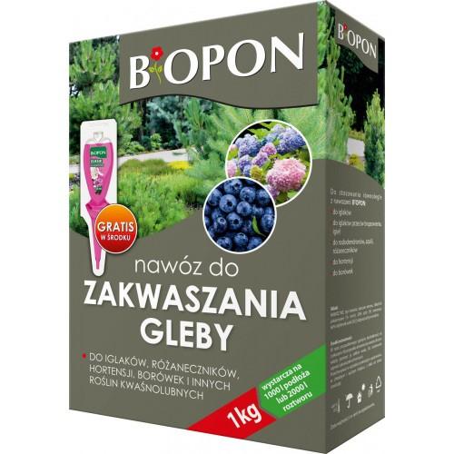 Nawóz Do Zakwaszania Gleby 1kg Biopon