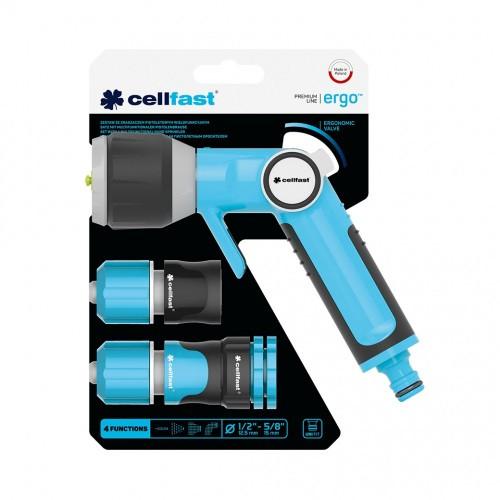 Cellfast Zestaw Zraszacz Pistoletowy Wielofunkcyjny 1/2 ERGO 53-530