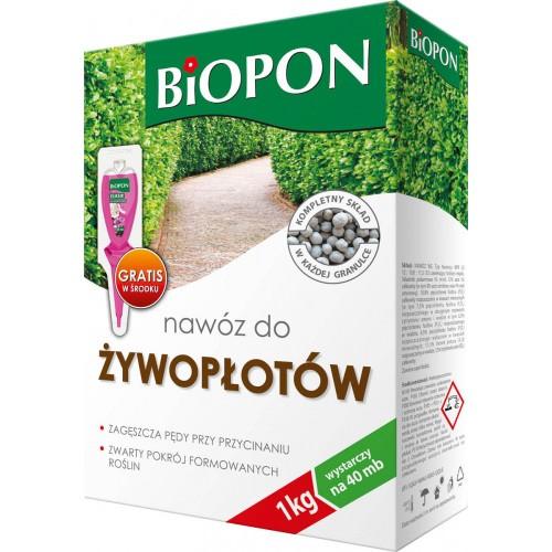 Nawóz Do żywopłotów 1kg Biopon