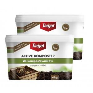 2szt Active Komposter Do Kompostownika 4kg Target