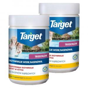 2szt Chlor Extra Granulat Basen 1kg Target