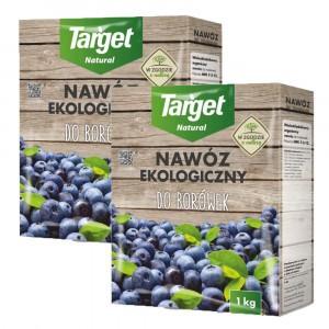 2szt Nawóz Ekologiczny do Borówek 1kg Target