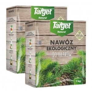 2szt Nawóz Ekologiczny do Iglaków 1kg Target