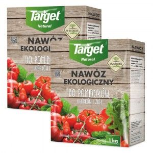 2szt Nawóz Ekologiczny do Pomidorów i Ogórków 1kg Target