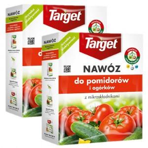 2szt Nawóz Granulowany Do Pomidorów I Ogórków 1kg Target