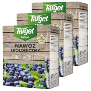 3szt Nawóz Ekologiczny do Borówek 1kg Target