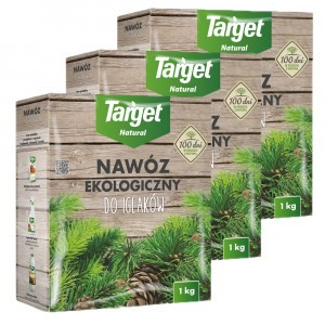 3szt Nawóz Ekologiczny do Iglaków 1kg Target