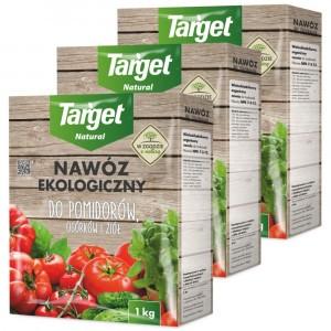 3szt Nawóz Ekologiczny do Pomidorów i Ogórków 1kg Target
