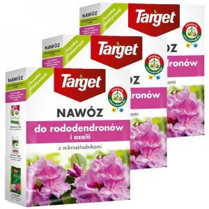 3szt Nawóz Granulowany Do Rododendronów I Azalii 1kg Target