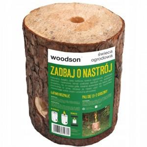 Świeca Ogrodowa Cytrynowa EKO Odstrasza Komary Woodson