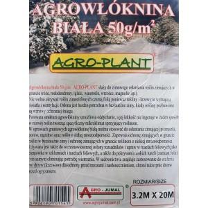 Agrowłóknina Biała 3,2x20mb  50g Na Zimę