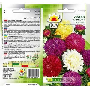 Nasiona Aster Karłowy Mix Toraf
